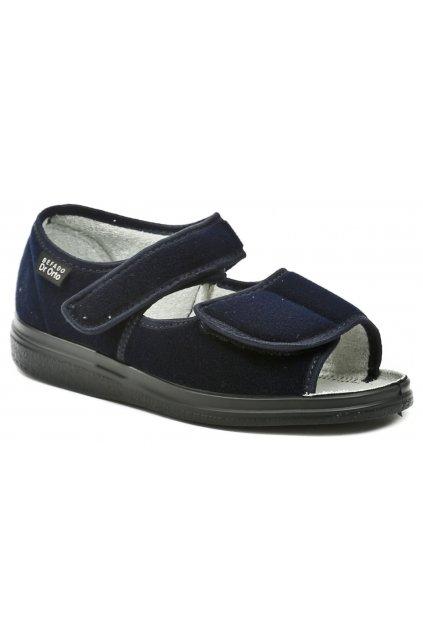 Dr. Orto 989M002 tmavě modré pánské zdravotní sandály