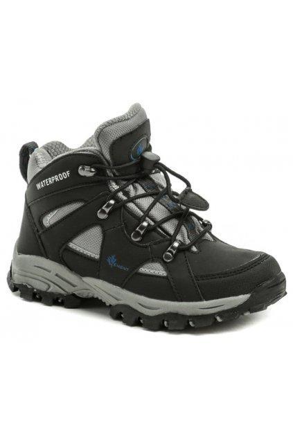 Vemont 5A2067C černé dětské trekingové boty