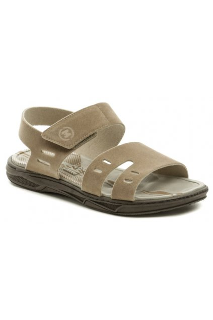 Molekinha 2402-215 béžové dětské sandály