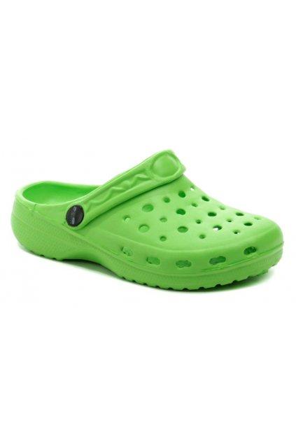 Axim 4K3804 zelené dětské nazouváky crocsy