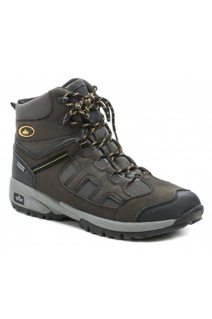 Lico 220096 hnědé pánské trekingové boty