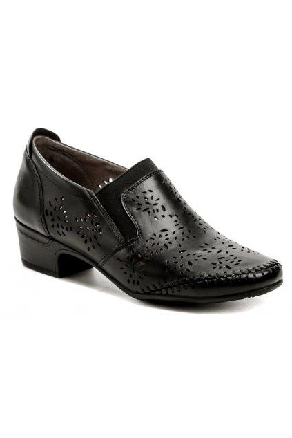 Jana 8-24315-26 černá dámská nadměrná obuv