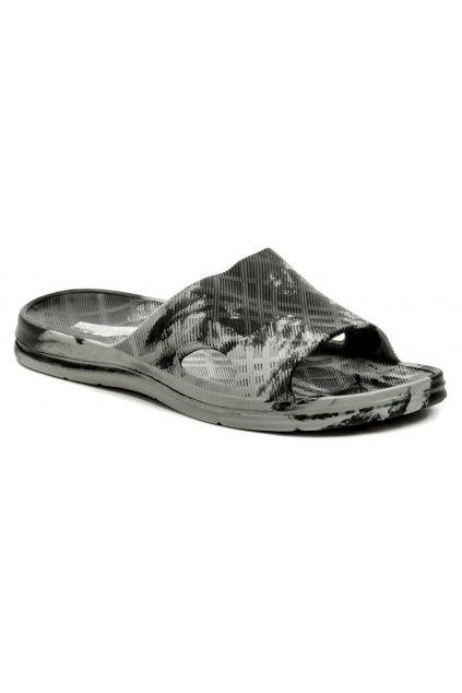 Magnus 380-0021-S1 šedé pánské plážovky