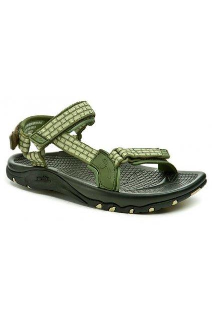 Earth Acadia zelené dámské sandály