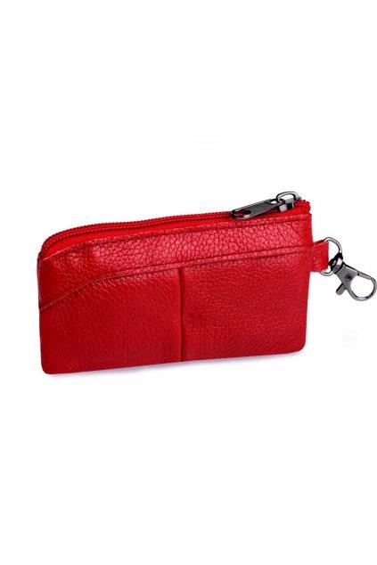 Klíčenka-peněženka malá kožená 7x13 cm L9810691