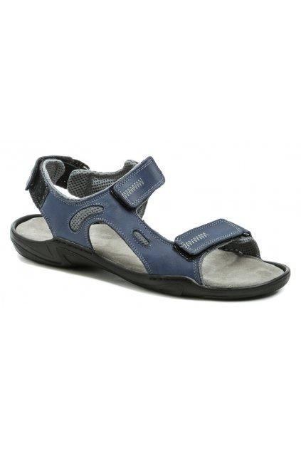 Koma 66 modré royal pánské nadměrné sandály