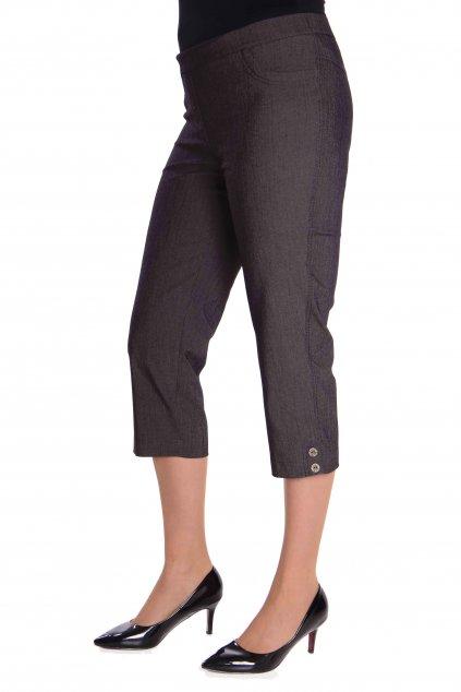 3 4 kalhoty julie w cerna