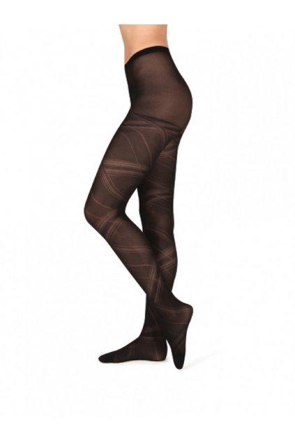 GLORIE - punčochové kalhoty 158-100 černá