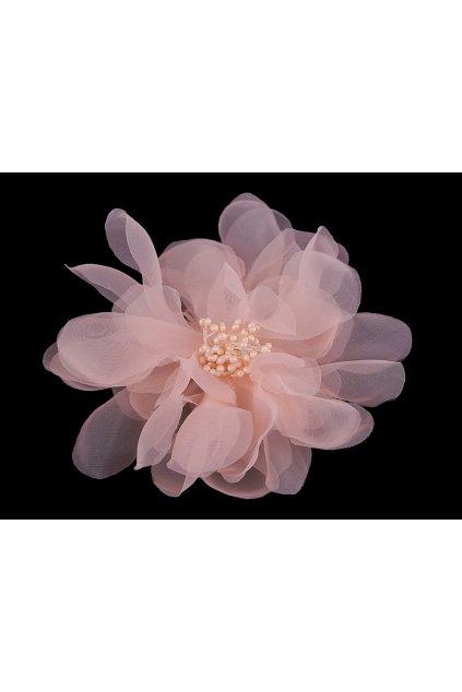 Brož / ozdoba květ Ø15 cm monofilový L9330908