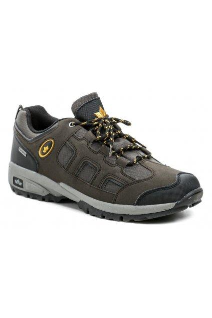 Lico 210116 hnědé pánské trekingové boty