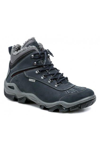 IMAC 182661 tmavě modré dámské zimní boty