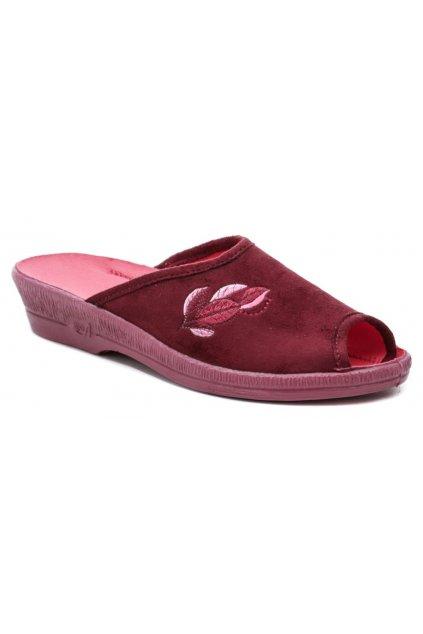 Befado 581D193 červené dámské papuče