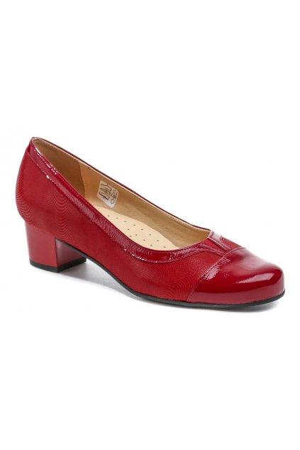 Mintaka 1211-3 červené dámské lodičky