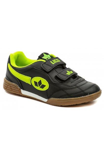 Lico 360353a černo zelené sportovní tenisky
