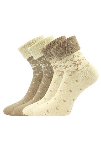 ponožky Frotana - angora