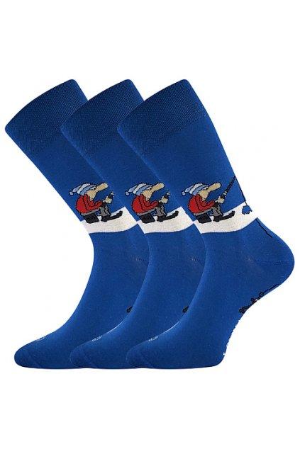 ponožky Woodoo Sólo - vzor 27 / rybář