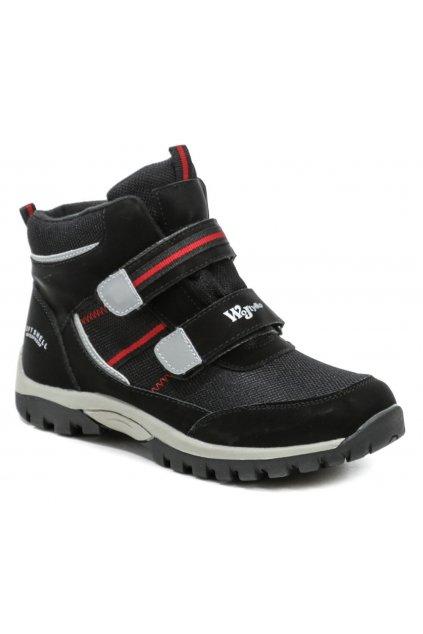 Wojtylko 6Z21040 černé dětské kotníčkové boty