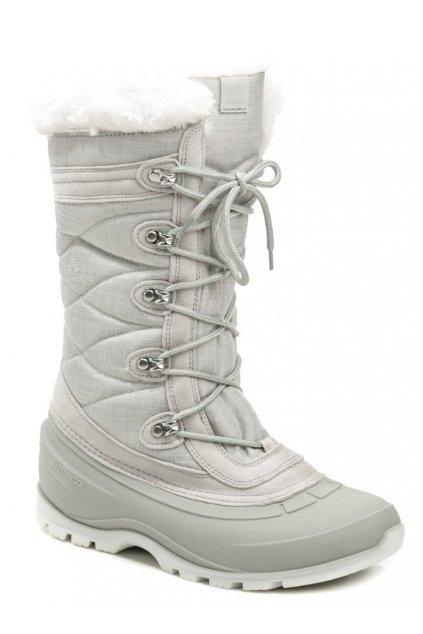 Kamik Snovalley4 světle šedá dámská zimní obuv