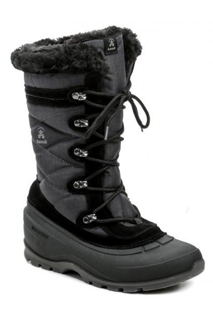 Kamik Snovalley4 černá dámská zimní obuv