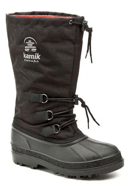 KAMIK Canuck black pánské zimní sněhule