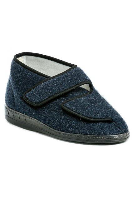 ARNO 191007 pánské zdravotní papuče s filcem