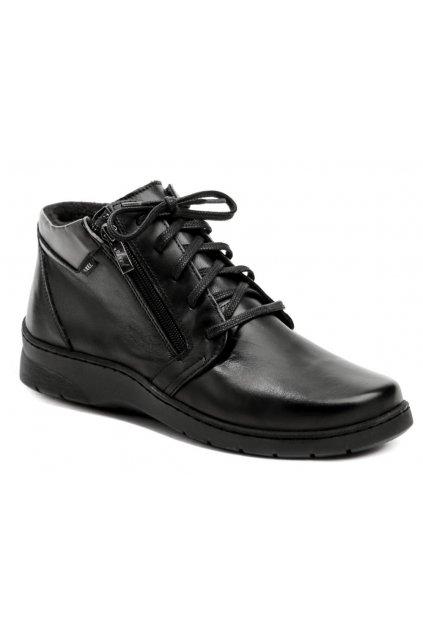 Axel AXCW163 černé dámské boty šíře H