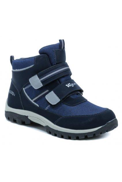 Wojtylko 5Z21040 modré dětské kotníčkové boty