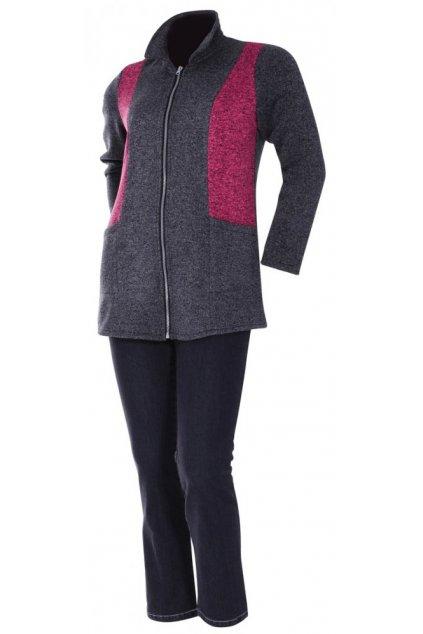 FLERI úpletový fleecový kabátek