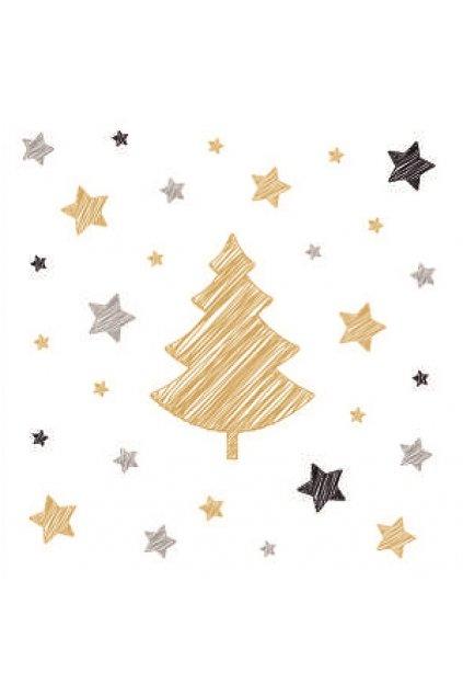 Papírové ubrousky vánoční 20 ks - L13017