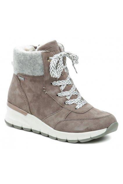 Jana 8-26223-27 OLD ROSE dámské zimní boty