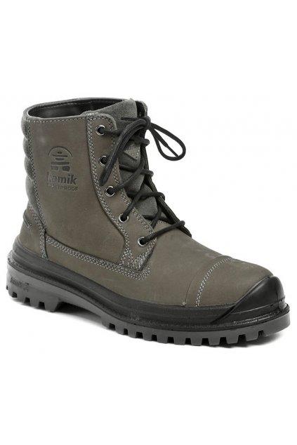 Kamik Griffon šedé pánské zimní boty