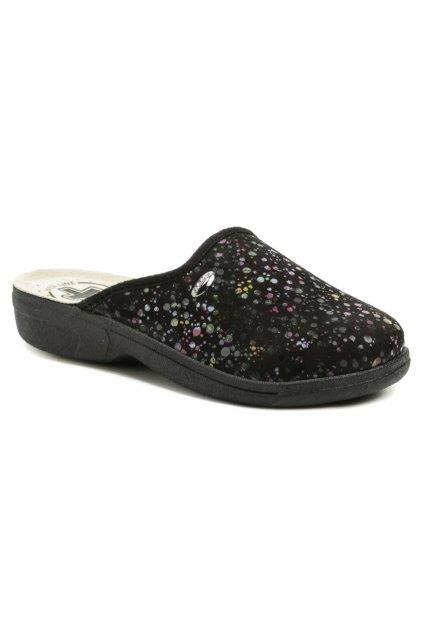 Medi Line 414 černé dámské zdravotní pantofle