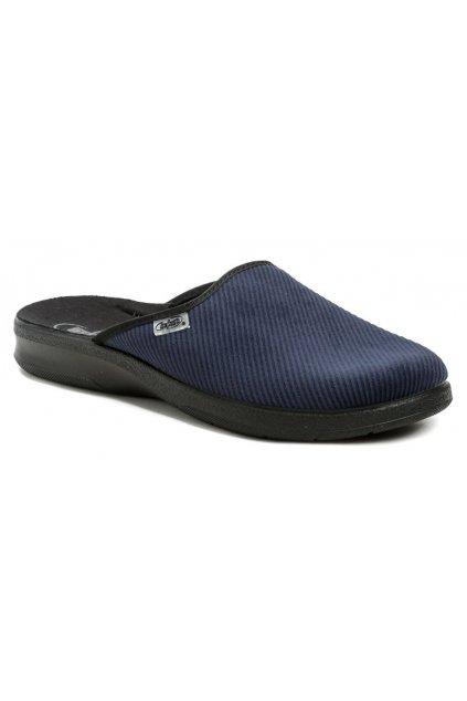Befado 548M019 modré pánské papuče