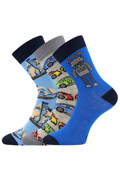 ponožky 057-21-43 12/XII - mix A - kluk