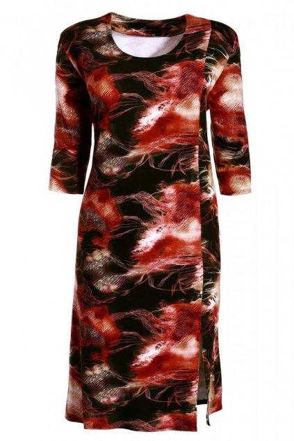LÍZA šaty 3/4 rukáv 130 cm