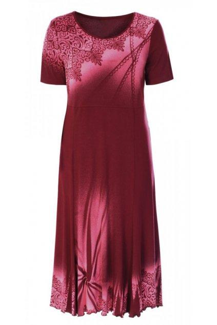 MARYLA - šaty krátký rukáv 120 - 125 cm