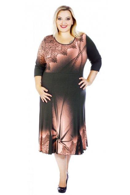 MARYLA - šaty 3/4 rukáv 130 - 135 cm