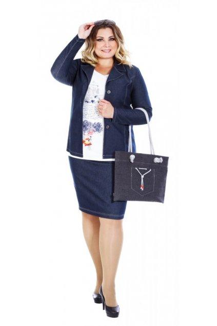 Riflová sukně 57 - 63 cm