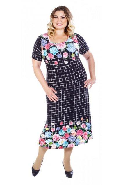 PETRA - šaty 120 - 125 cm 3/4 rukáv