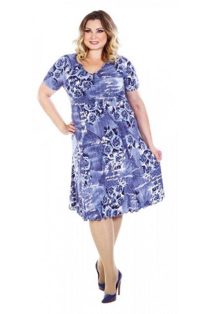 TREFA - šaty krátký rukáv 120 - 125 cm