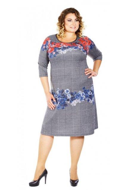 NOLA - šaty krátký rukáv