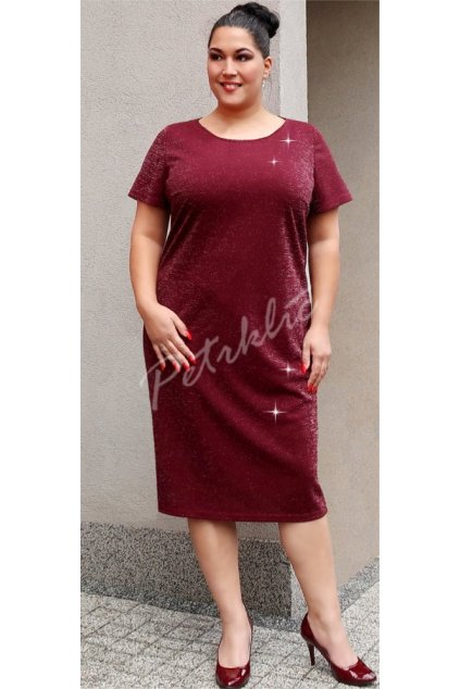 ARNIKA - šaty krátký rukáv 110 - 115 cm