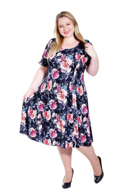 NELA - šaty 115 - 120 cm