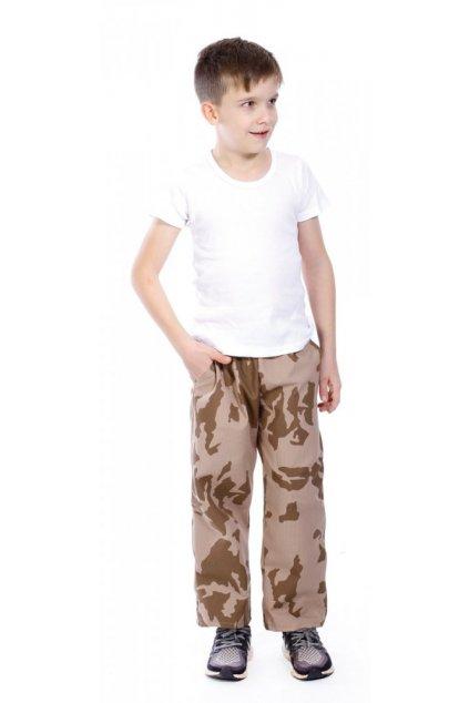 Dětské maskáčové kalhoty