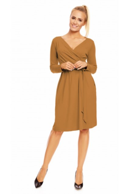 KORNELIA ANGORA  - šaty se zavinovacím efektem