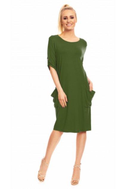 KLEMENTÝNA - šaty 3/4 rukáv