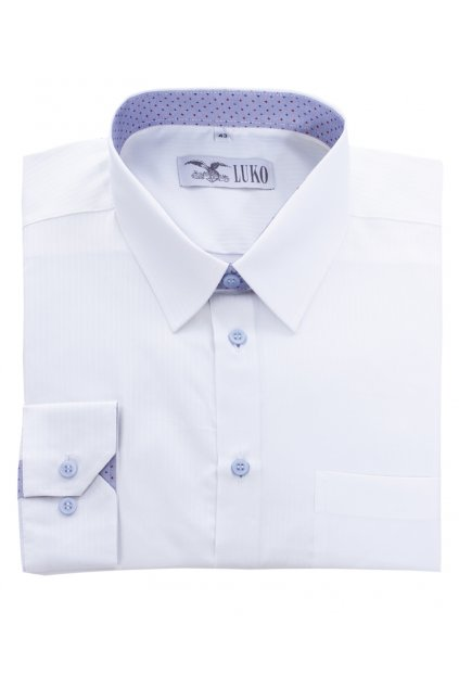Pánská košile bílý proužek
