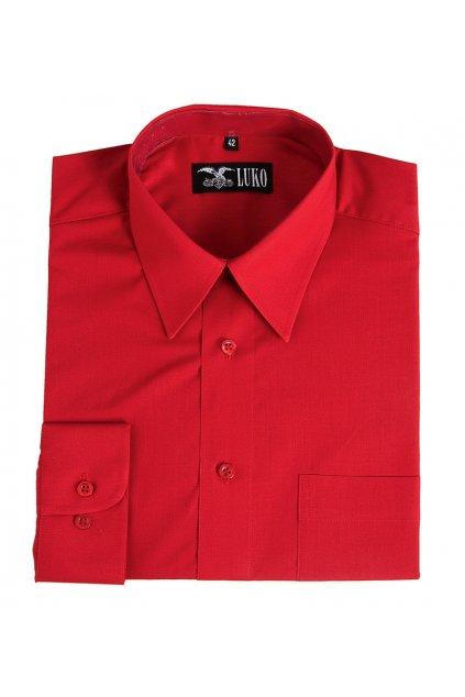 Pánská košile dlouhý rukáv 2 - směs bavlna a polyester 1:1