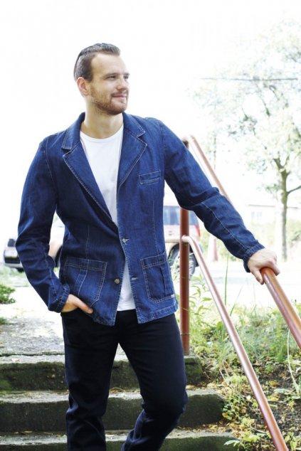 DYLAN - pánské jeansové sako  190