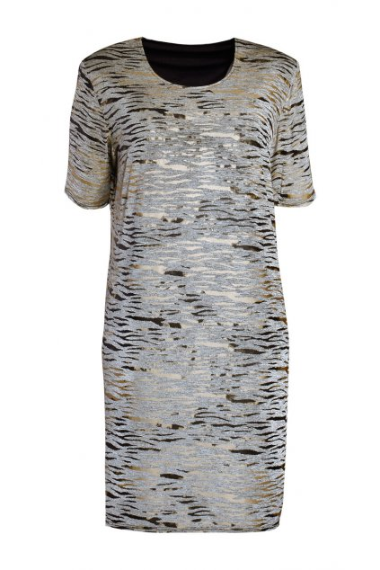 šaty dámské rovný střih nina 1